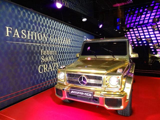 gelandewagen gold
