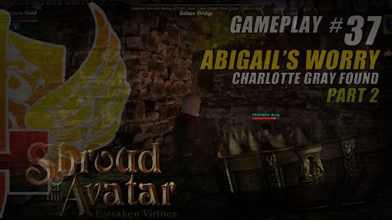 Abigail's Worry, Charlotte Gray Found In Shroud Of The Avatar Pre-Alpha Release 25