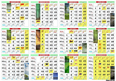kalender kalender bulanan tahun 2014 | Wallpaper Lovers
