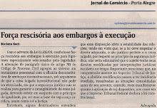 Força Rescisória dos Embargos à Execução