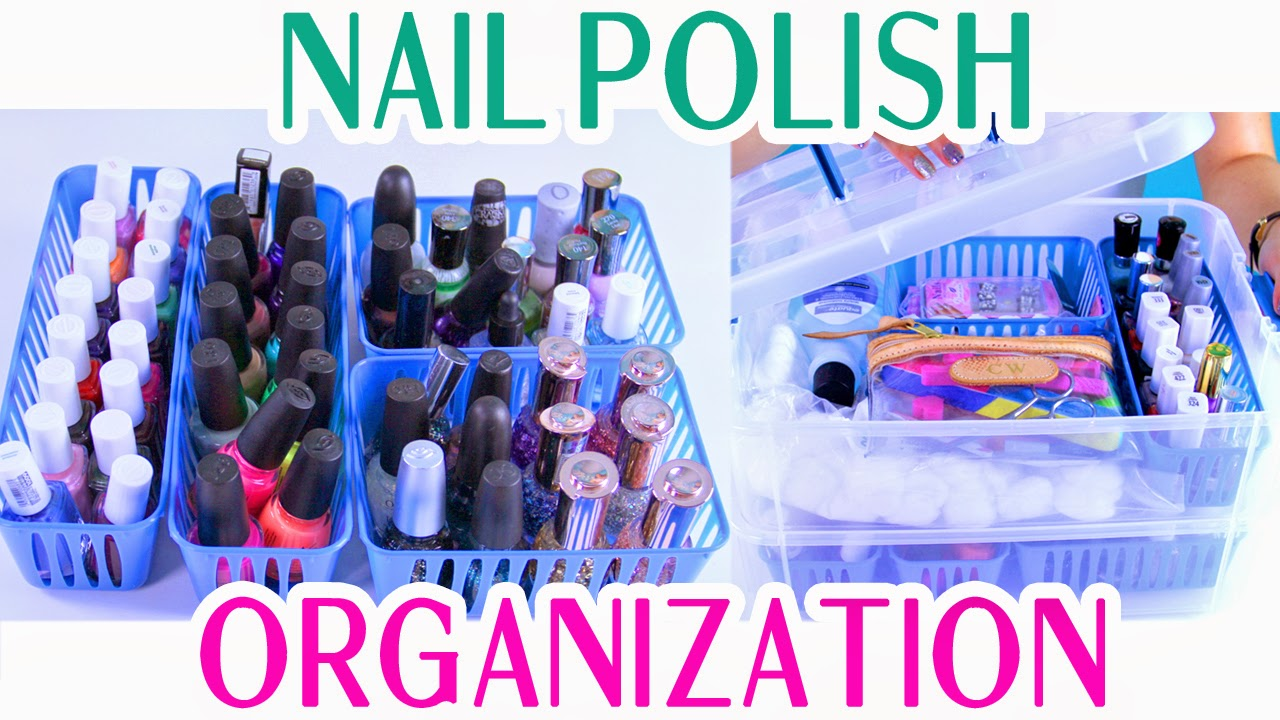 DecorateYou: Nail Polish Organization and Storage: Portable and ...