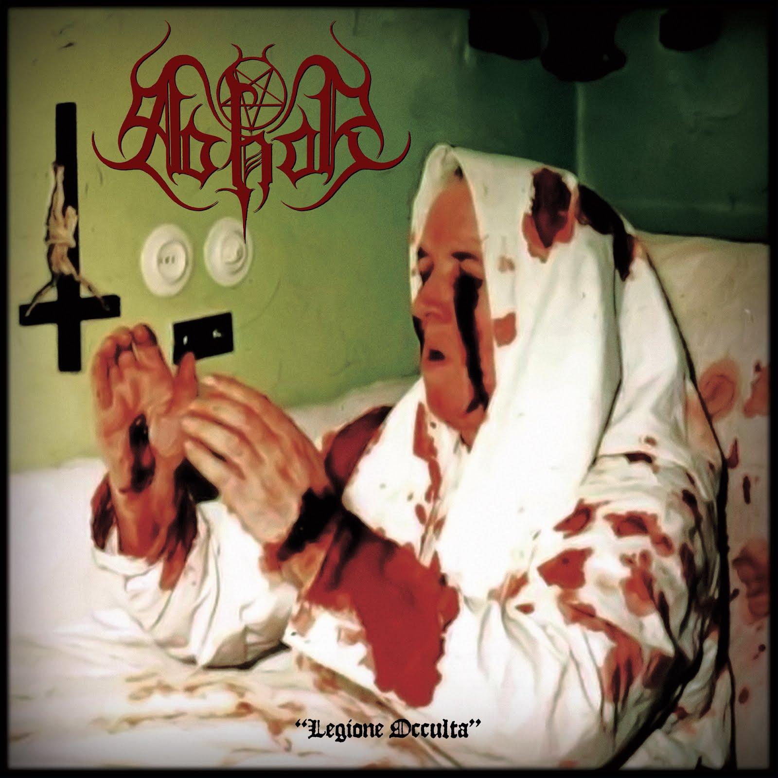 "Abhor (Italy) / Abysmal Grief - Legione Occulta / Ministerium Diaboli split 12"" MLP - Press Release"
