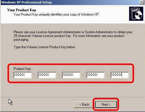 xp professional product key volume license