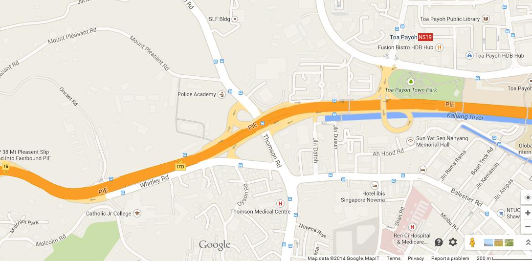 Adana @ Thomson map