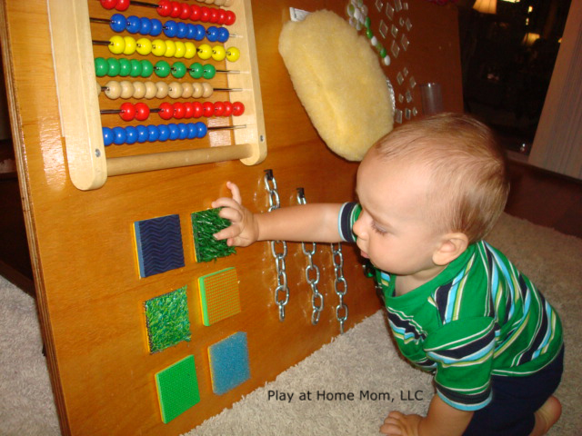 Homemade Sensory Board I Think It Daddy Builds It