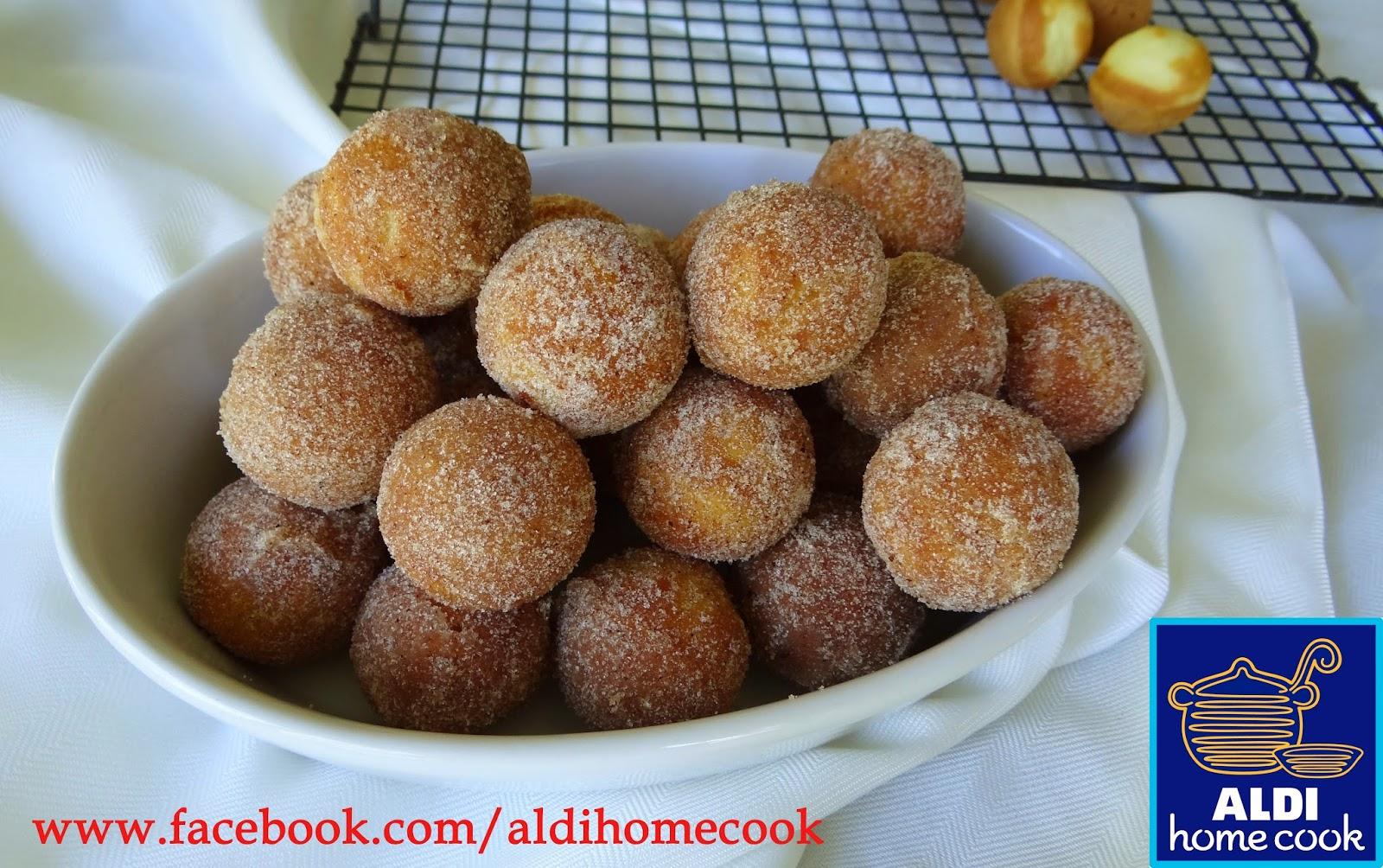 Aldi Home Cook Cinnamon Doughnut Balls