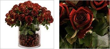 Roses Vase - Cherry