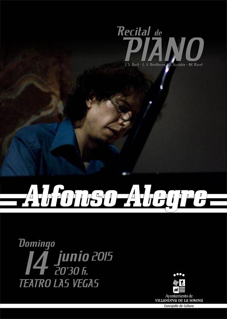 Recital de Piano: Alfonso Alegre