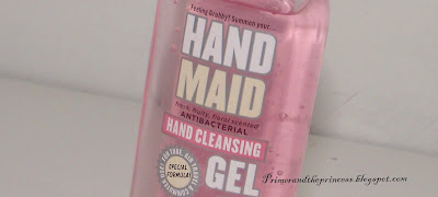 Soap And Glory Hand Maid Antibacterial Hand Sanitizer Gel Review