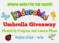 Kidorable Umbrella Giveaway