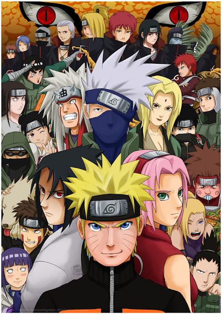 Naruto Shippuden - All Stars