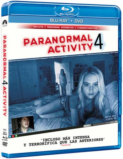Paranormal Activity 4 (2012) Dual Audio BRRip 720p Hindi Dubbed 800mb
