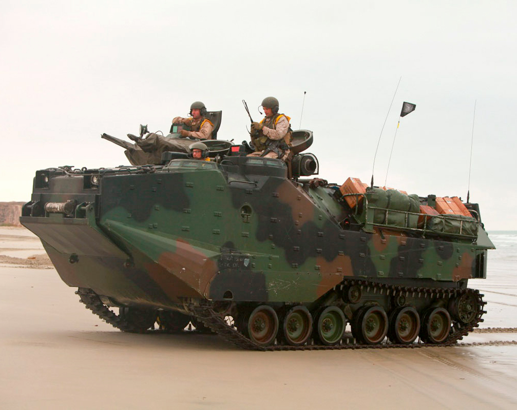 AAV7A1 Assualt Amphibious Vehicle