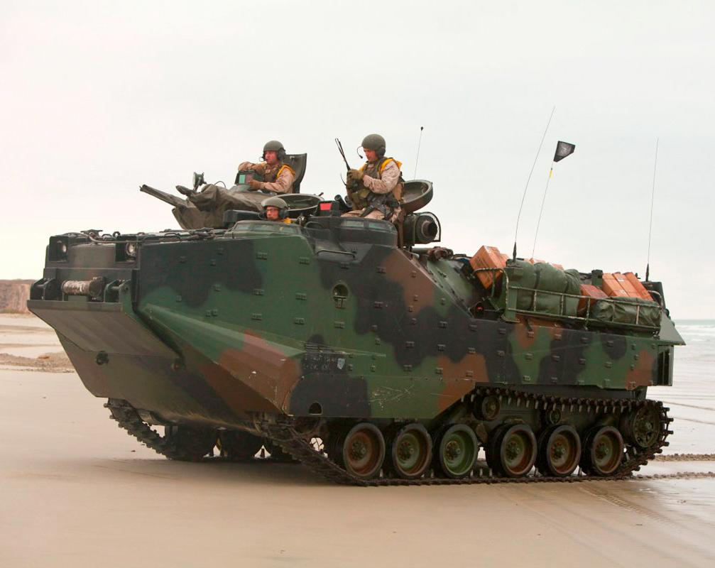 AAV7A1 Assualt Amphibious Vehicle