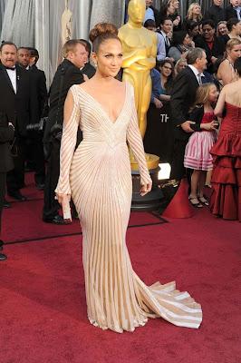 Jennifer Lopez Oscars 2012 Gown