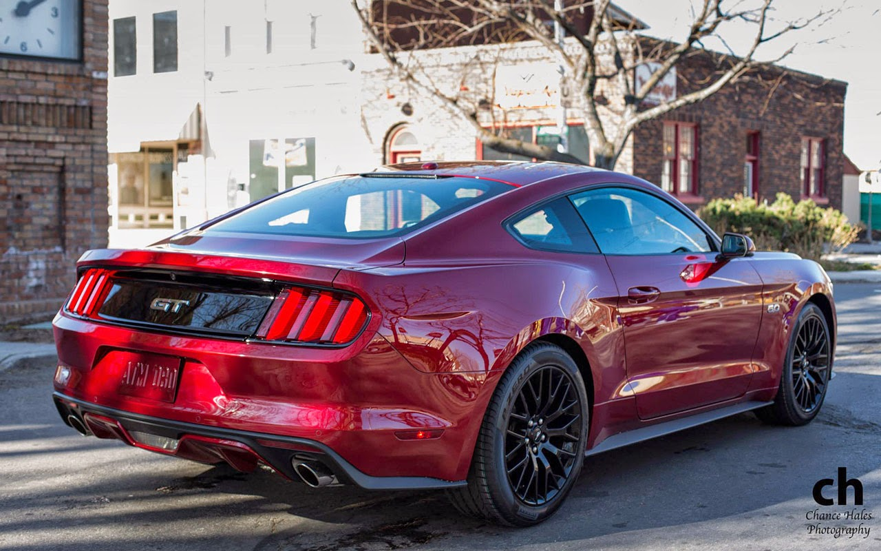 Ruby Red 2015 Ford Mustang GT