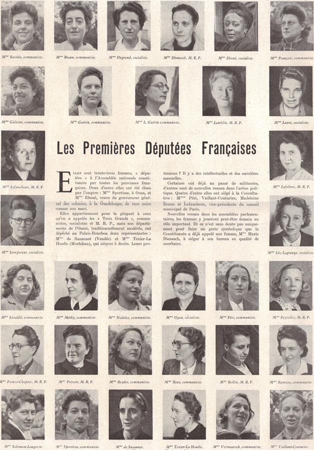 1ères députées françaises