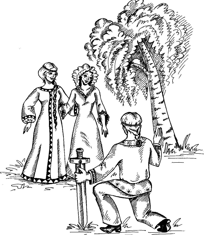 Картинка раскраска кощея бессмертного 119