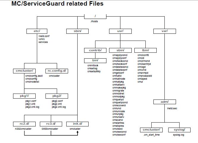 MC Service Guard Config Files