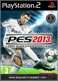 Capa Baixar Pro Evolution Soccer 2013   PS2   Torrent Baixaki Download