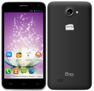 Micromax Launched Canvas Blaze Dual SIM (CDMA+GSM) Smartphone