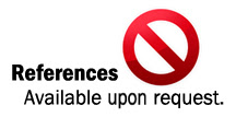 remove references available upon request, lamest line on your resume,