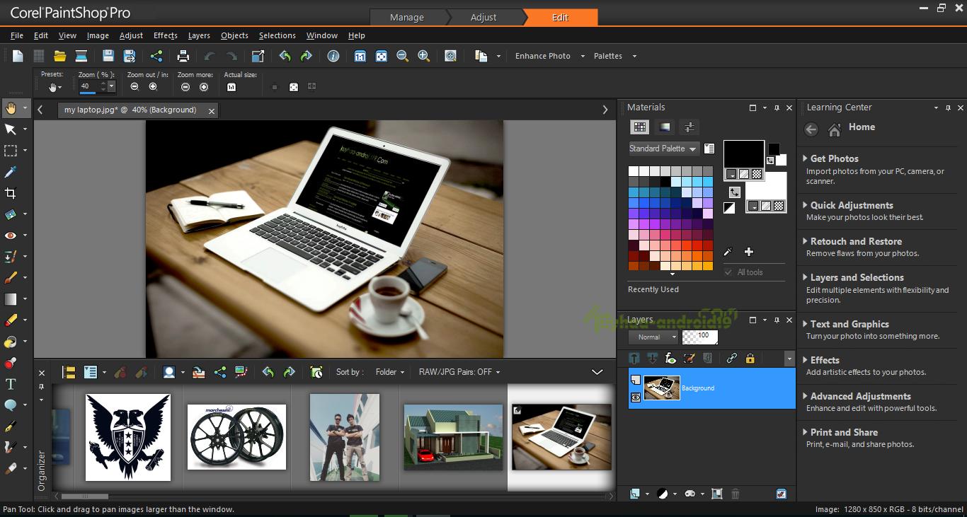 Download Corel Paintshop Pro 2018 Ultimate 20 0 0 132 Terbaru