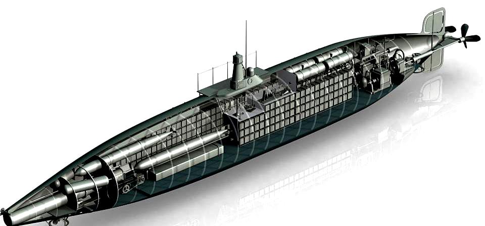 Los fardos de peric n 1512 tangos para isaac peral a for Interior submarino