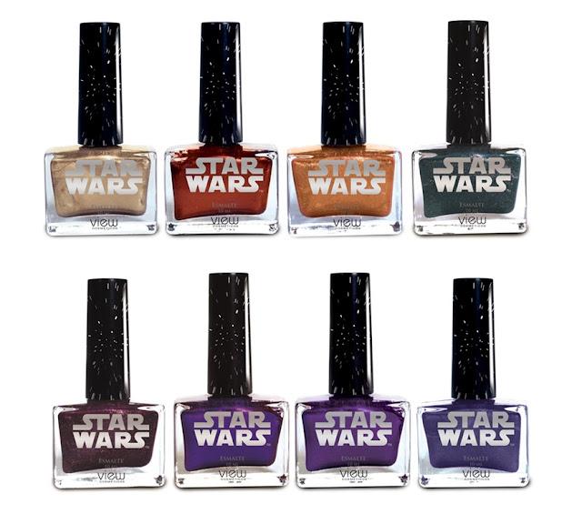 Esmaltes da Star Wars