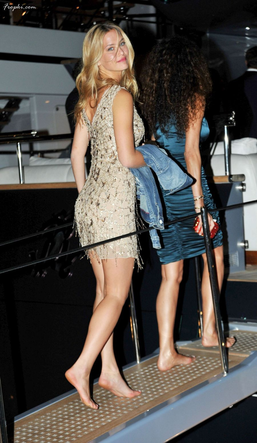 Photo Gallery Bar Refaeli At Private Dinner On Cavalli