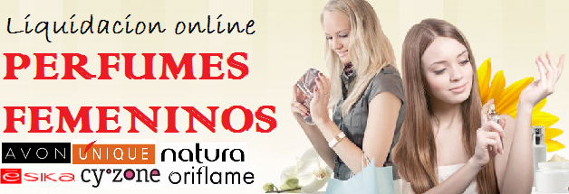 LIQUIDACION PERFUMES FEMENINOS