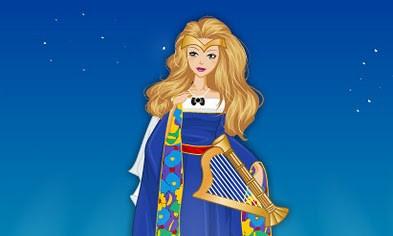 juego barbie medieval princesa