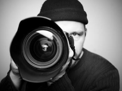 Hombre tomando una foto