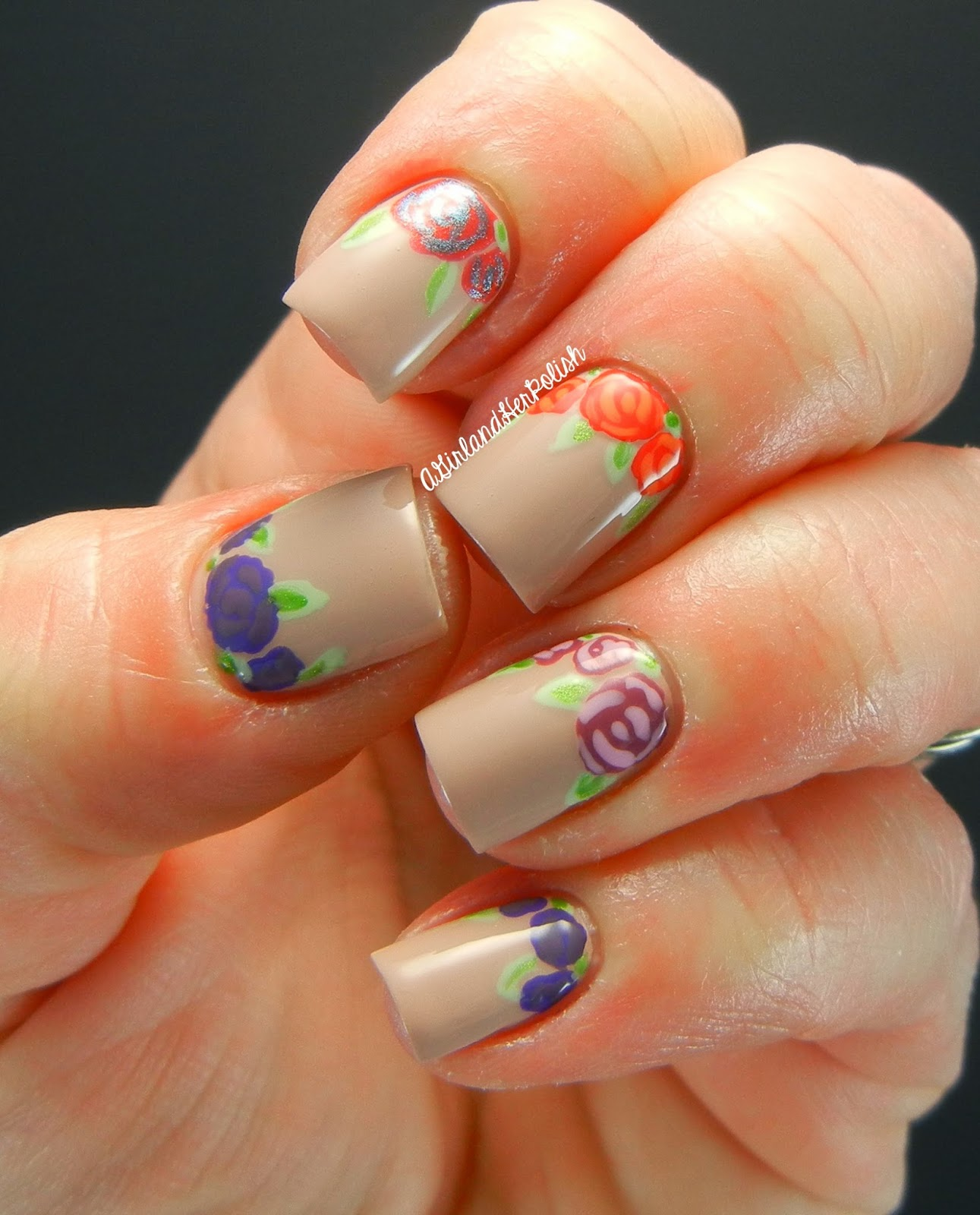 Alfa img - Showing > Hawaii Theme Toe Nail Art