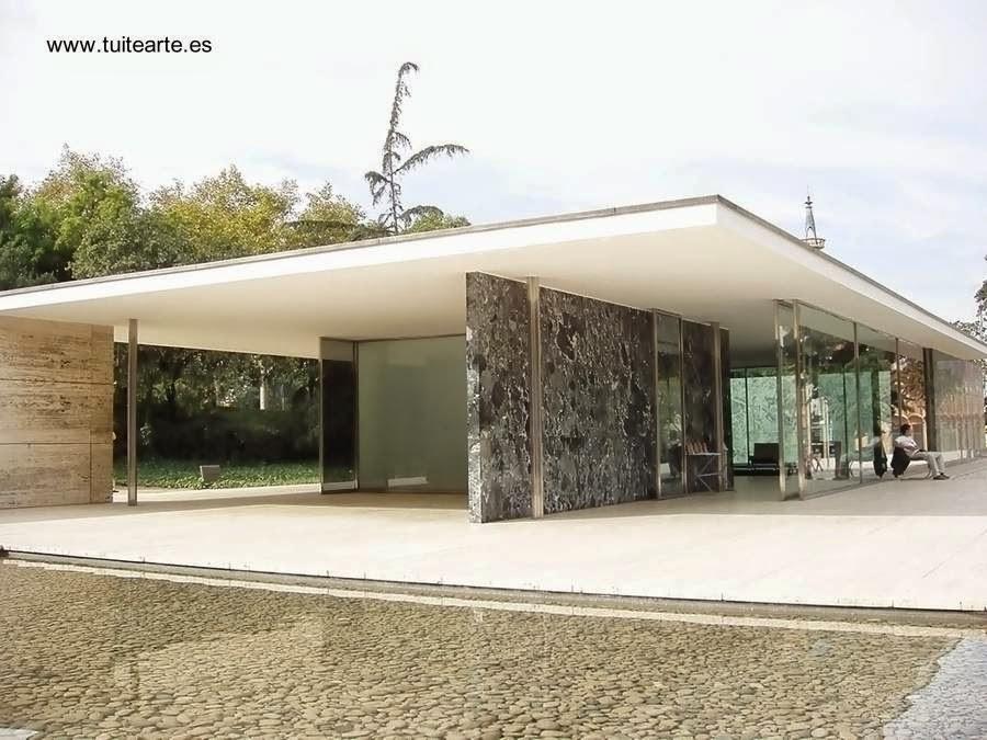 Casa de Alemania en Barcelona 1929 Mies van der Rohe