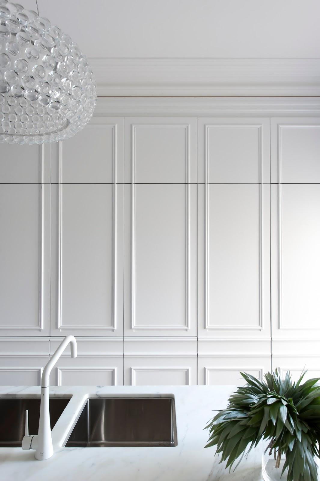 Kitchen Wall Paneling : Minosa the hidden kitchen sydney s eastern suburbs