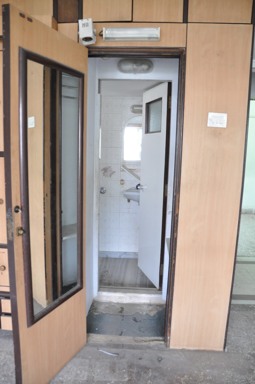 Marol flat for Bedroom with attached bathroom and dressing room