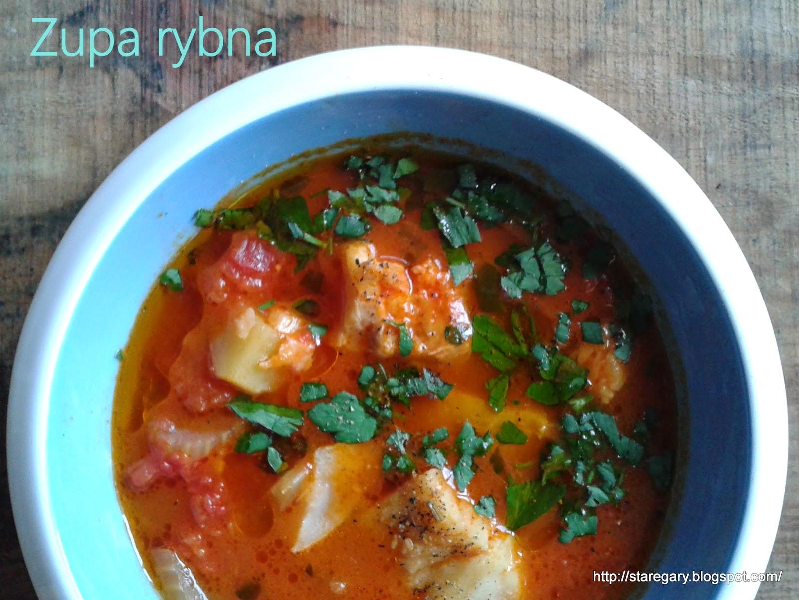 Zupa rybna - prosta i szybka
