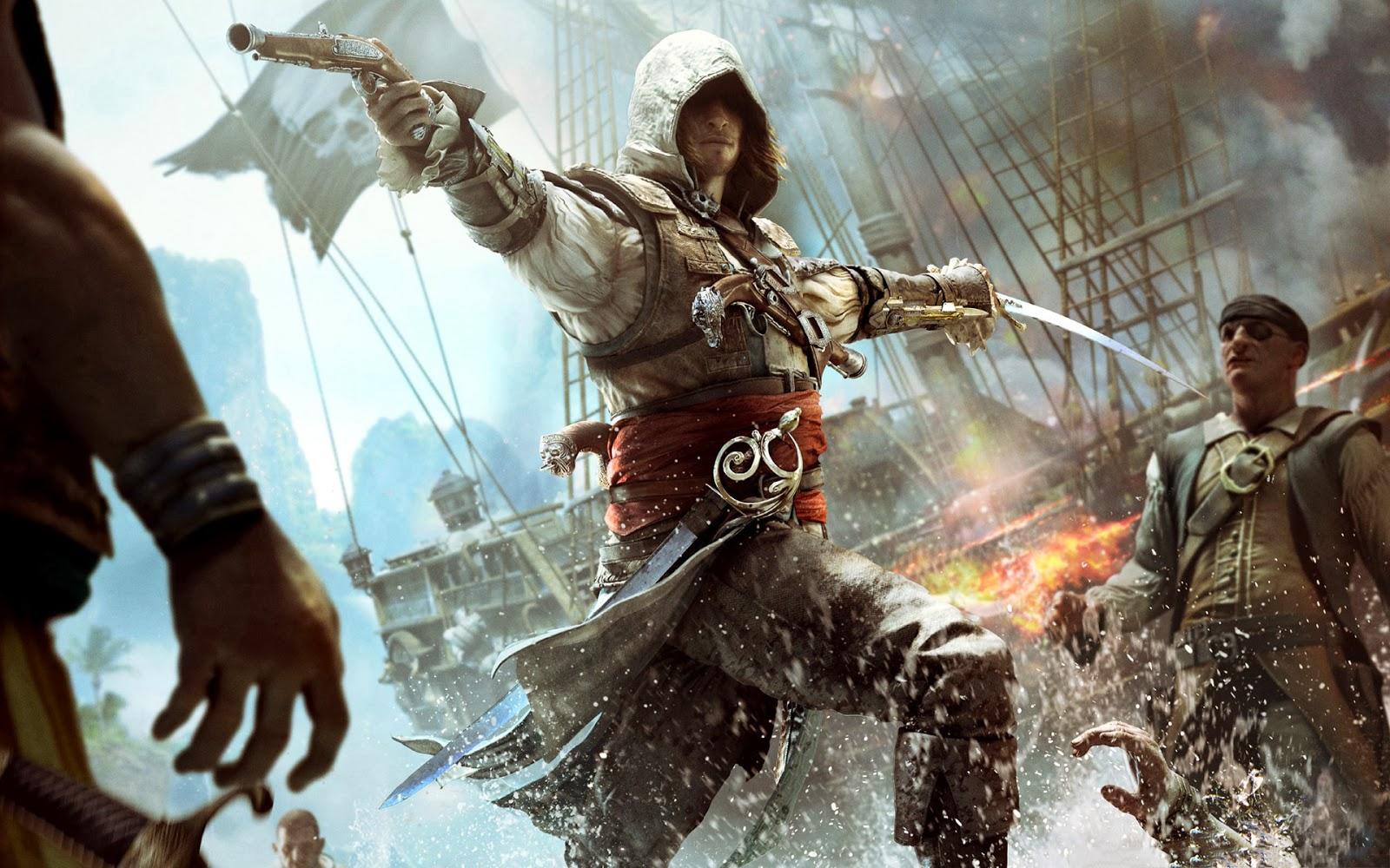 assassins creed iv black flag download skidrow