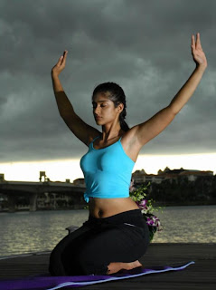 Ileana Hotter Yoga Poses Stills