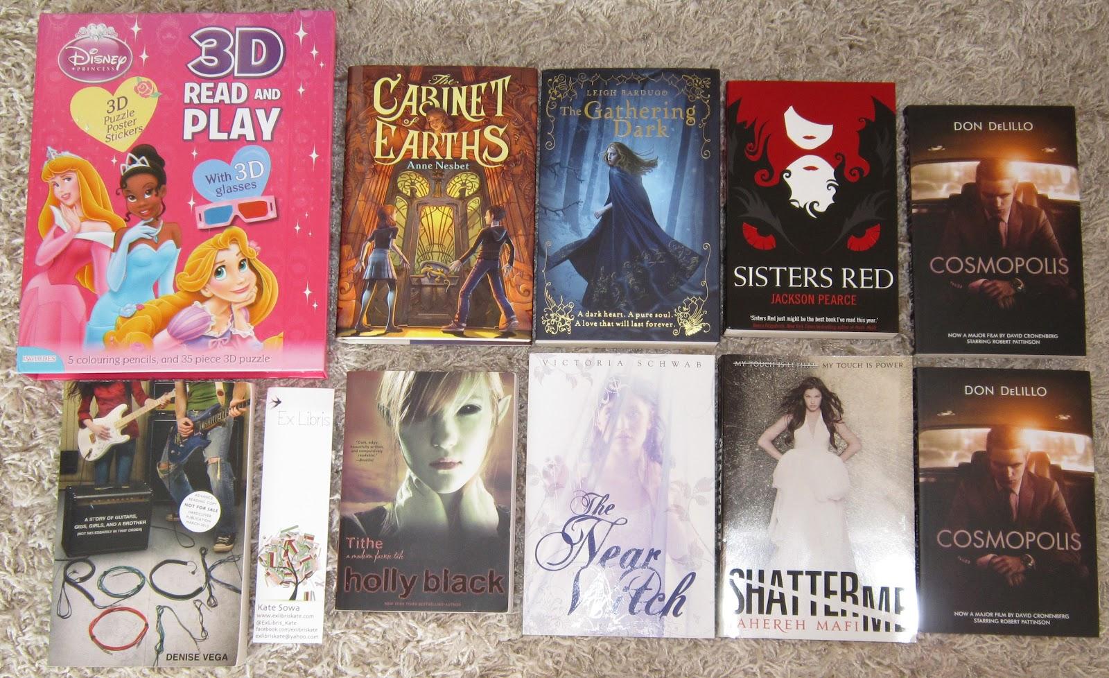 Carina's Books: May 2012