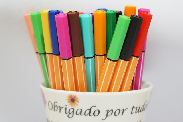 resenha canetas stabilo - as melhores para desenho e ilustração