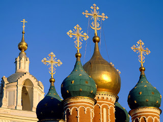 Znamensky Cathedral Moscow Russia wallpaper