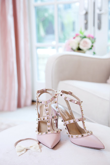 valentino heels -  Pink Peonies