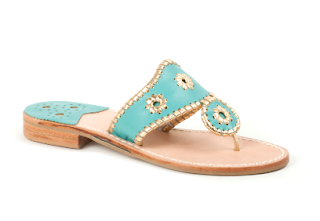 Rio Navajo turquoise Gold Jack Rogers