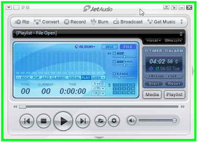 Cowon JetAudio Default Large Skin