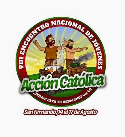 Programación del VIII encuentro nacional de jòvenes de acción católica de Venezuela. Apure 2014.