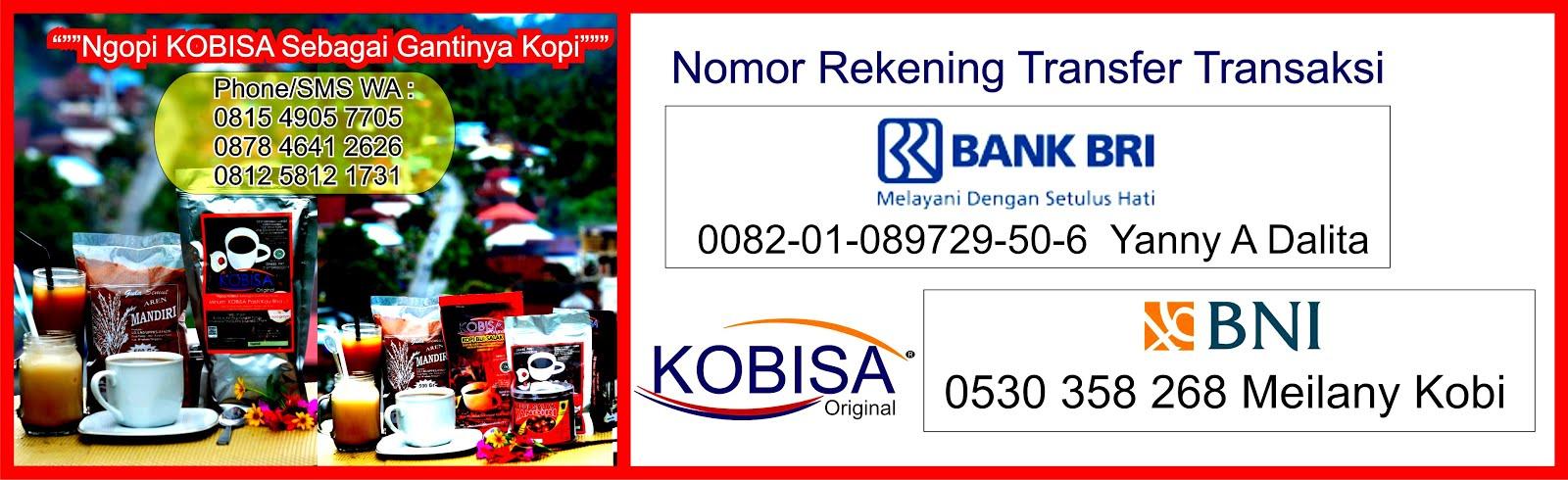 Rekening Transfer Transaksi KOBISA