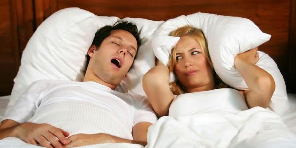 Cara Agar Menghentikan Dengkur Saat Tidur