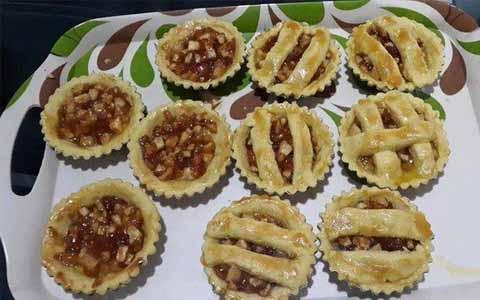 Resep Cara Membuat Pie Apel Mini Sederhana